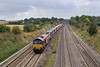 15th Oct 07:  66094 powers the Marchwood to Didcot MOD stores  train at Spring Farm