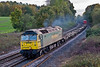 29th Oct 07:  Playing again is 57006 'Freightliner Reliance' on 4M59 to Coatbridge.  How much longer will she last?