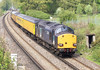 17th Apr 07: 37609 heads today's Serco from Selhurst to Bournemouth. Captured here having just crossed the M25 at Lyne