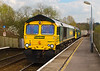 10th Apr 07: 66577 with 57002 climb through Dunbridge