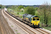 18th Apr 07:  66541 passes with the Wentloog to Southampton