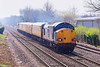 5th Apr 07:  37605 leads 37609 on a Serco working which included a return trip from Guildford to Reading