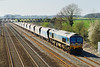 5th Apr 07:  59005 trudles a good load to Acton Yard from Merehead