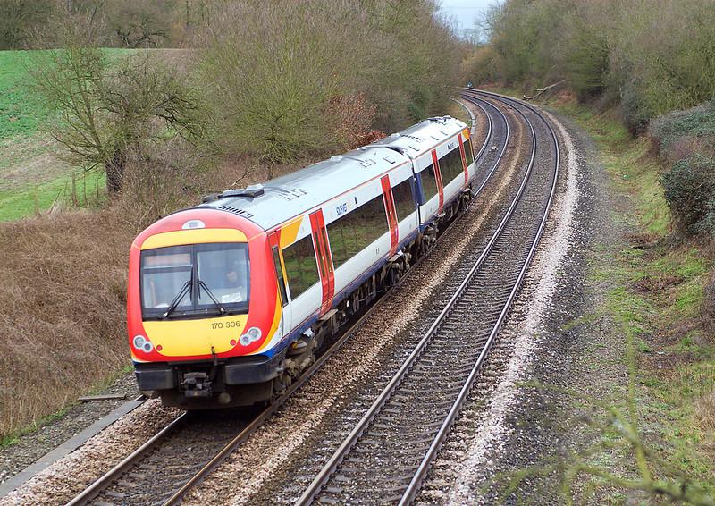 27th Feb 07:  170306 on it's way to Brighton