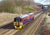 15th Feb 07:  158814 returns from having it's tyres turned at Wimbledon. The mixed livery makes a welcome change on this line.