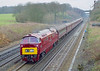 24th Feb 07:  D1046 on 1Z52 Waterloo to Okehampton at Totters Lane.  800 ISO weather again