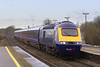 17th Jan 07:  43125 leads 1Z30 from Laira to Paddington for the Press Launch of the refurbished stock