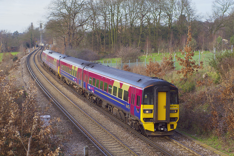 31st Jan 07:  158774 & 158742  head south to join South West Trains fleet.  The move is 5Z58 from Doncaster to Salisbury Depot