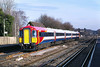 31st Jan: 442405 passes Byfleet & New Haw on the 10.01 from Poole