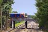 1st Jun 07:  450035 on the UP Farnham Line flyover at Pirbright Junction