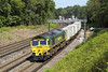 5th Jun 07:  A full load for once for 66541 on 4O35 from Crewe to Southampton. Pirbright