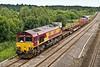 28th Jun 07: 66149 brings 6V27 departmental from Eastleigh to Hinksey through Lower basildon