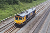 "7th Jun 07:  Working as 0F70 66715 ""Valour"" is making it's way to Laira from Wembley.  It will be used on a FGW stock move on the 8th June"