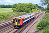 12th Jun 07:  158881 was delivered from Wabtec today. Seen here passing Totters Lane
