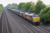 14th May 07: A crap shot but a freight hauled by 2 x 37s is rare . 37406 & 37422 head the Avonmouth to Wembley Enterprise. Thanks to all the gen posters for the info that this was the traction.
