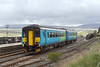 7th May 07: 156475 departs from Ribblehead towards Carlisle with the 12.49 from Leeds