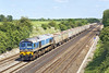 23rd May 07:  59005 brings 7C77 Acton to Merehead Jumbo empies down the Relief line