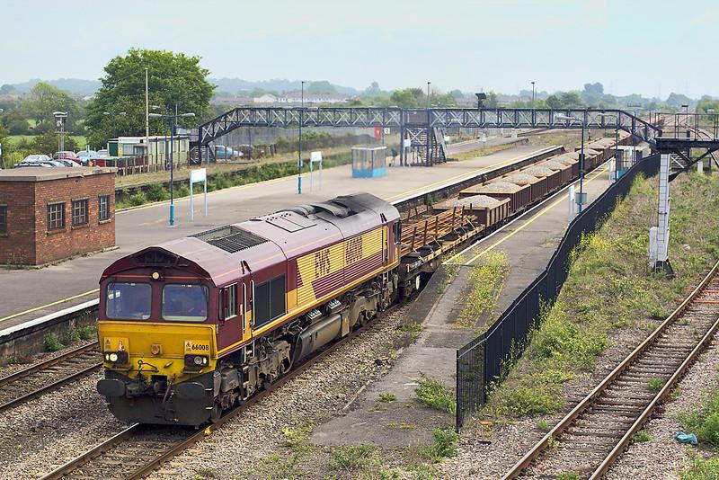 24th May 07: 66008 on 6B55 runs through Severn Tunnel Junction