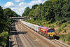 7th Aug 07: 59206 is working 7A09 from Merehead to Acton through the Sonning Cutting