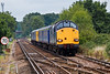 30th Aug 07:  37606 now leading at Ash on the Guildford to Aldershot leg of todays working