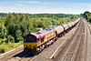 3rd Aug 07:  66172 is unusual power for the Theale to Lindsey empty oil tanks.
