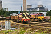 27th Aug 07: 08804 indulges some lazy shunting at Didcot as 66240 and almost hidden 59203 rest between duties