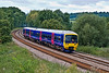 30th Aug 07:  FGW Turbo 165111 rounds the curve into Shalford on a Reading to Gatwick sevice