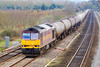 21st Mar 07:  The Theale to Lindsey Murco empty oil tanks with 60019 in charge