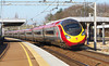 "15th Mar 07: 390013 races to Euston. Berkhamsted is one of only three places on the WCML that the full ""Tilt"" facility is used at 125 mph."