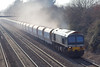 26th Mar 07: Throwing up the dust clouds 59101 brings 6A31 from Merehead to Acton