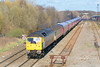6th Mar 07:  47840 working 5Z47 From Derby To Laira with refurbished FGW trailers