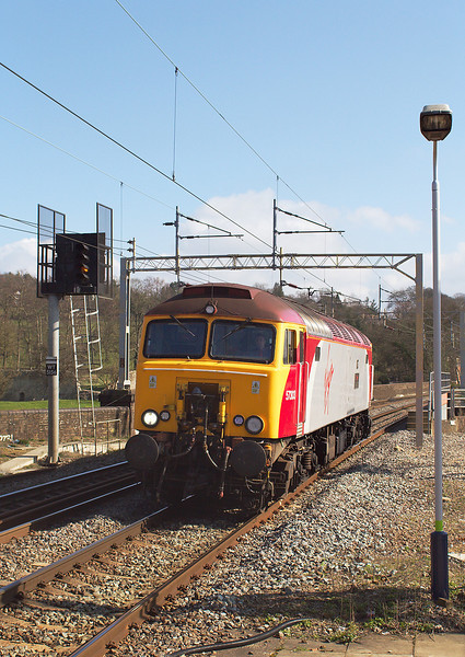 15th Ma0 7: Thunderbird 57303 scampers to the North