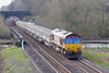 6th Mar 07:  66236 leads 6D44 Bescot to Toton Engineers