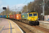 15th Mar 07: 66579 heads South