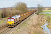 6th Mar 07:  66166 and loaded scrap metal from Healey Mills to Margam
