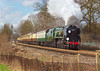 2nd Mar 07:  35028 brings todays running of the Surrey Hills Luncheon Express through Lyne