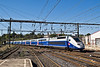 6th Sep: TGV 254 leaves Montpellier as an ECS.  It returned later to form our train back to Paris