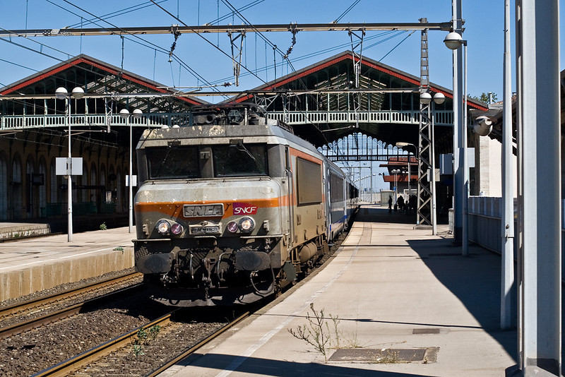 4th Sep:   7408 stops at Sete making for Toulouse