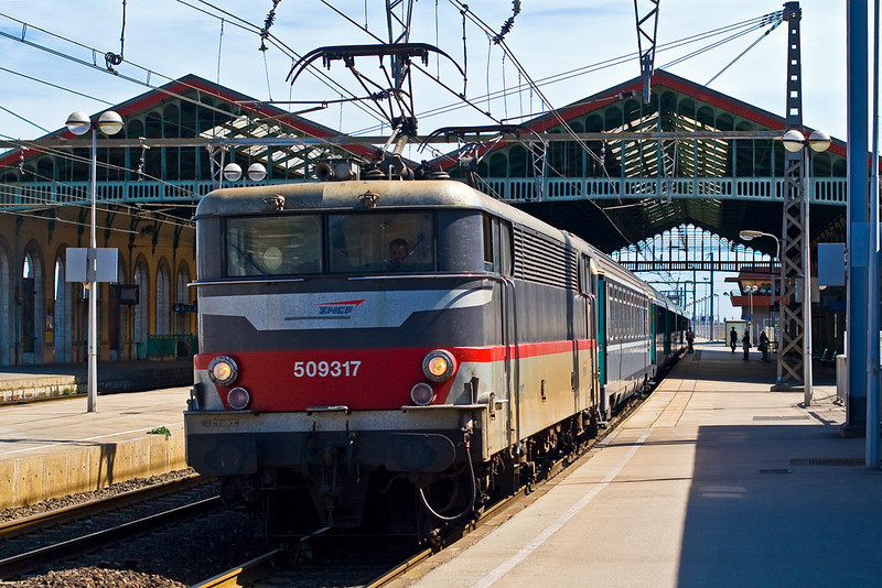4th Sep: 509317 now leaves for Cordoba