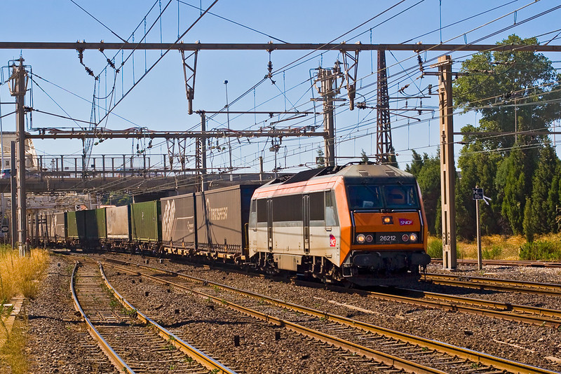 4th Sep:  426212 enters Sete with a east bound Transfesa