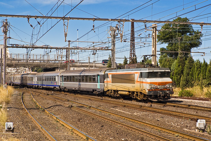 4th Sep: 107250 enters Sete from the west