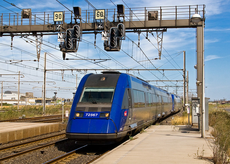 3rd Sep:  72567 for Beziers
