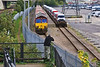 26th Sep 07:  Chris Perkins getting the head on shot of 66108 as it assembles the Western Docks to Bescot Ford car train