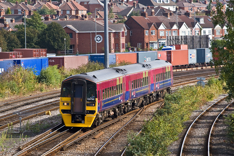 26th Sep 07:  158798 for Cardiff from Portsmouth