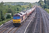 13th Sep 07:  Just missing the sun is 60045 taking the Theale Murco empties back to Robeston