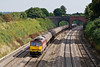 14th Sep 07:  6E55 the Theale to Lindsey empty oil tanks rumbles through Lower Purley in the hands of 60038