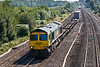 13th Sep0 7:  The lightly loaded 4M58 Southampton to Ditton is in the hands of 66592