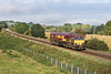 22nd Sep 07: 66006 potters along towards Westbury