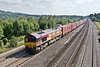 13th Sep 07:  With a good load of containers 66125 heads the Marchwood to Didcot MOD Stores service
