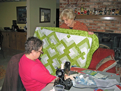 Quilting Bee at Carolyn's